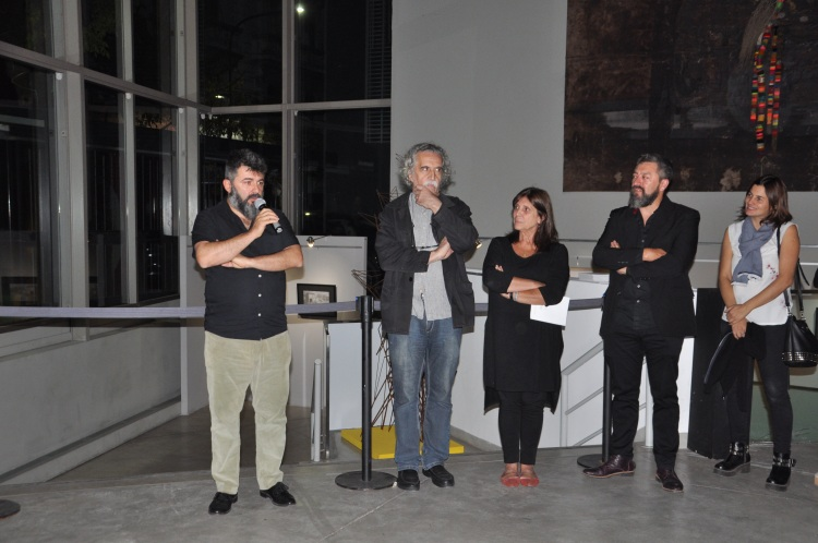 Ronsino, Santoro y la diputada Teresa García