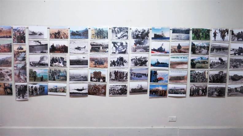 Se inauguró la muestra sobre Malvinas (1)